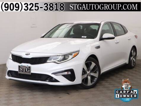 2019 Kia Optima for sale at STG Auto Group in Montclair CA