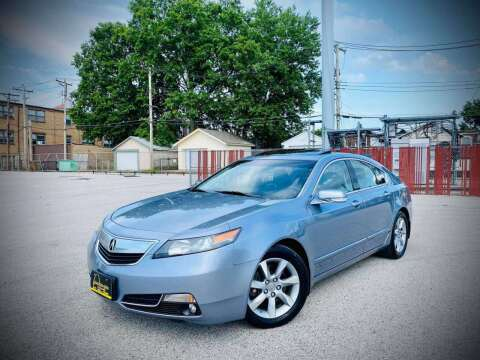 2012 Acura TL for sale at ARCH AUTO SALES in Saint Louis MO