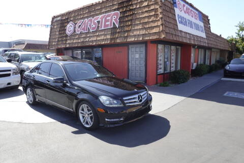 2013 Mercedes-Benz C-Class for sale at CARSTER in Huntington Beach CA