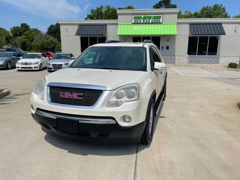 2009 GMC Acadia for sale at Cross Motor Group in Rock Hill SC