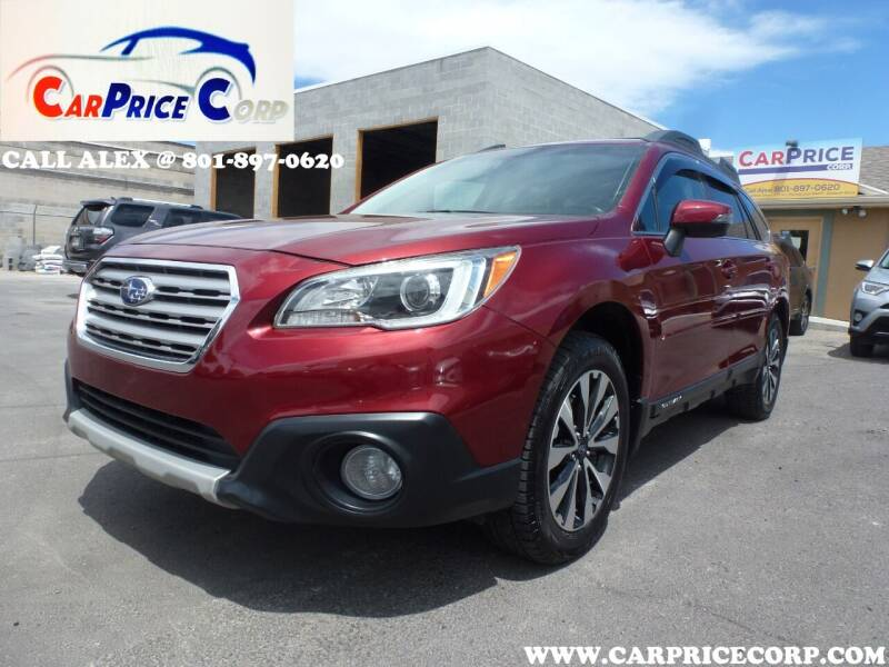 2016 Subaru Outback for sale at CarPrice Corp in Murray UT