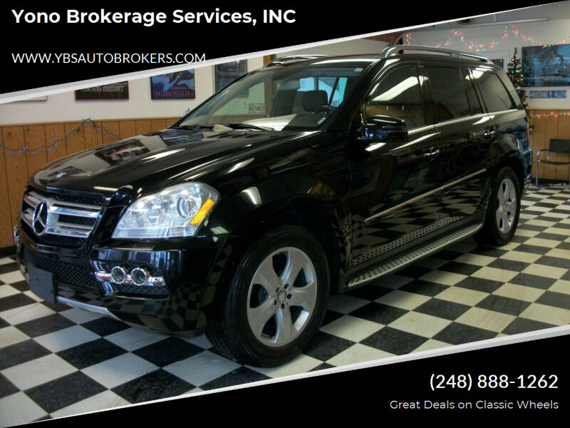 2011 Mercedes-Benz GL-Class for sale at Yono Brokerage Services, INC in Farmington MI