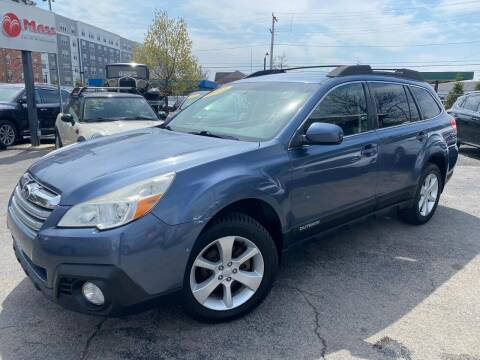 2013 Subaru Outback for sale at Mass Auto Exchange in Framingham MA
