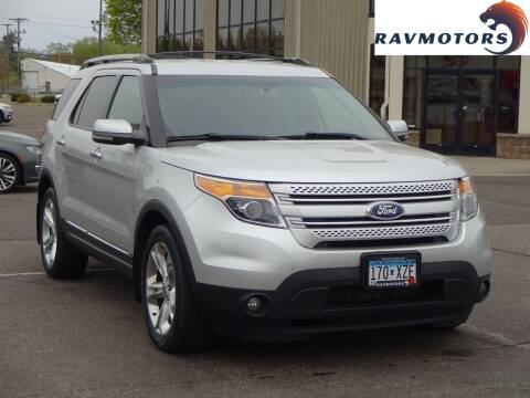 2011 Ford Explorer for sale at RAVMOTORS 2 in Crystal MN