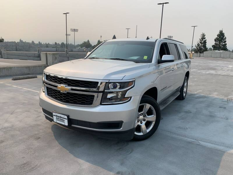 2015 Chevrolet Suburban for sale at BAY AREA CAR SALES in San Jose CA