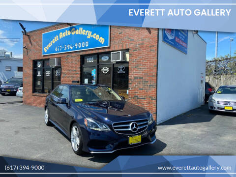 2014 Mercedes-Benz E-Class for sale at Everett Auto Gallery in Everett MA