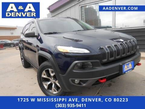 2014 Jeep Cherokee for sale at A & A AUTO LLC in Denver CO