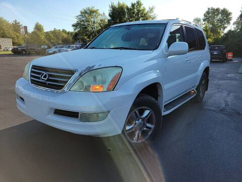 2004 Lexus GX 470 for sale at Cruisin' Auto Sales in Madison IN