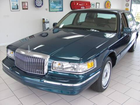 1997 Lincoln Town Car for sale at Kens Auto Sales in Holyoke MA