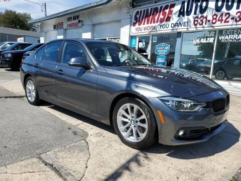 2018 BMW 3 Series for sale at Sunrise Auto Outlet in Amityville NY