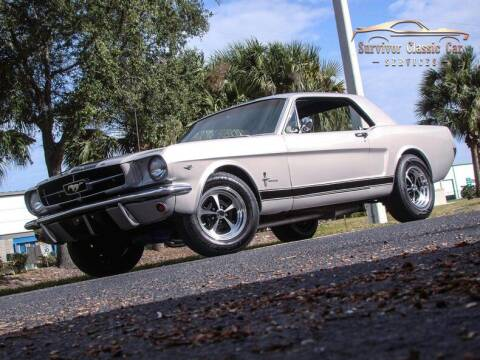 1965 Ford Mustang for sale at SURVIVOR CLASSIC CAR SERVICES in Palmetto FL