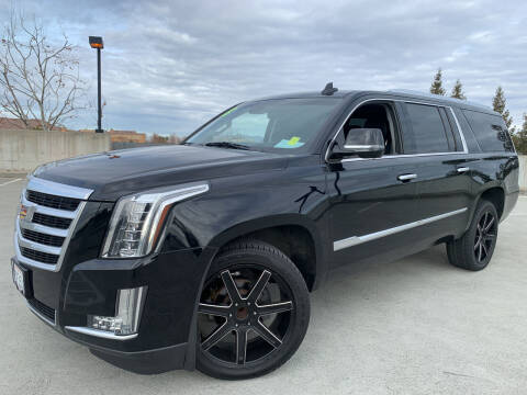 2015 Cadillac Escalade ESV for sale at BAY AREA CAR SALES 2 in San Jose CA