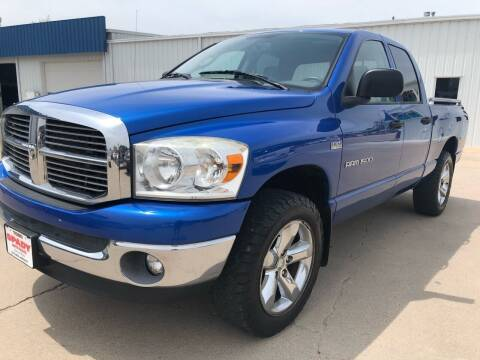 2007 Dodge Ram Pickup 1500 for sale at Spady Used Cars in Holdrege NE