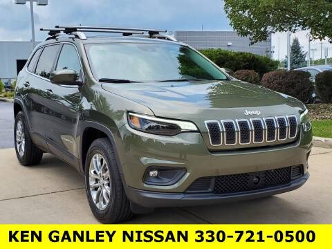 2021 Jeep Cherokee for sale at Ken Ganley Nissan in Medina OH