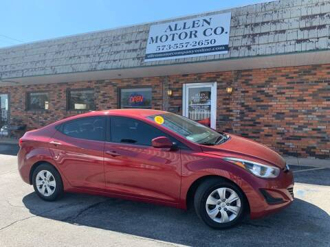 2016 Hyundai Elantra for sale at Allen Motor Company in Eldon MO