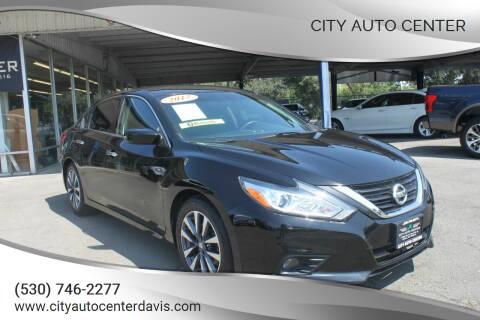 2017 Nissan Altima for sale at City Auto Center in Davis CA