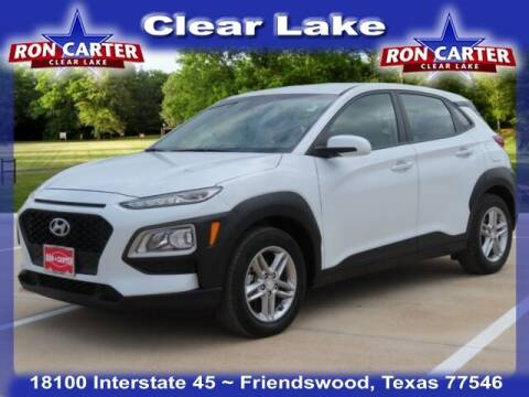 2019 Hyundai Kona for sale at Ron Carter  Clear Lake Used Cars in Houston TX