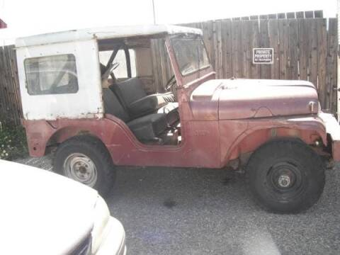 1954 Jeep DJ5 for sale at Haggle Me Classics in Hobart IN
