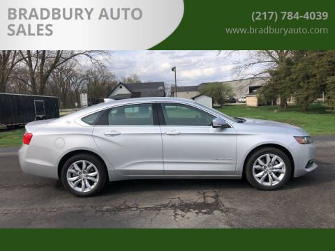 2020 Chevrolet Impala for sale at BRADBURY AUTO SALES in Gibson City IL