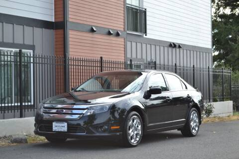 2010 Ford Fusion for sale at Skyline Motors Auto Sales in Tacoma WA