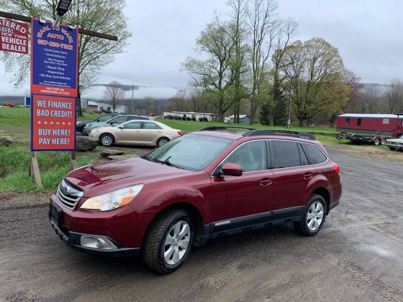 2011 Subaru Outback for sale at Wahl to Wahl Auto Parts in Cooperstown NY
