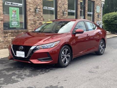 2020 Nissan Sentra for sale at The King of Credit in Clifton Park NY
