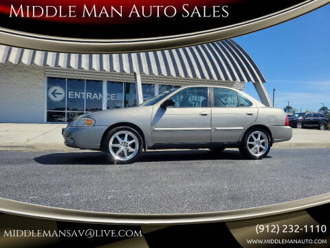 2006 Nissan Sentra for sale at Middle Man Auto Sales in Savannah GA