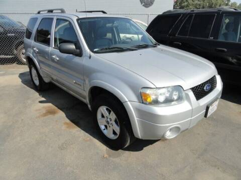 2007 Ford Escape Hybrid for sale at Gridley Auto Wholesale in Gridley CA