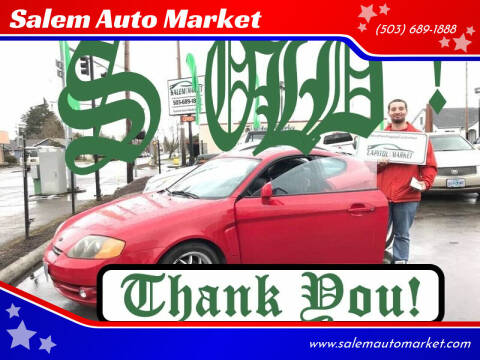 2003 Hyundai Tiburon for sale at Salem Auto Market in Salem OR