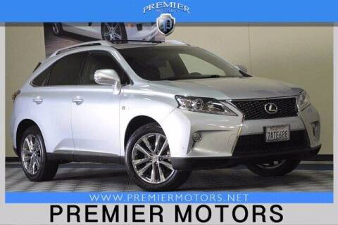 2013 Lexus RX 350 for sale at Premier Motors in Hayward CA