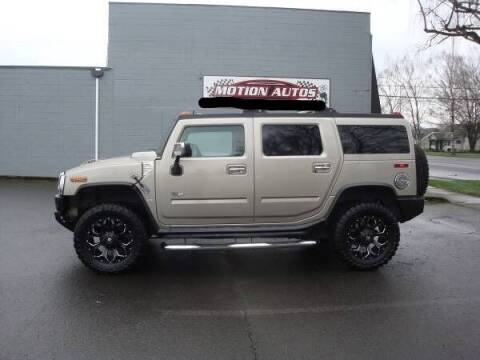 2005 HUMMER H2 for sale at Motion Autos in Longview WA