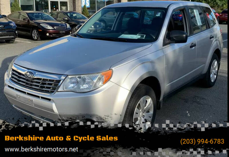 2010 Subaru Forester for sale at Berkshire Auto & Cycle Sales in Sandy Hook CT