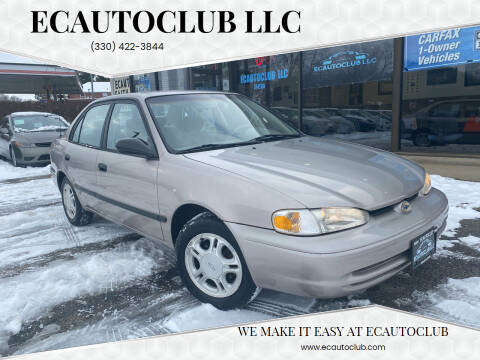 1998 Chevrolet Prizm for sale at ECAUTOCLUB LLC in Kent OH