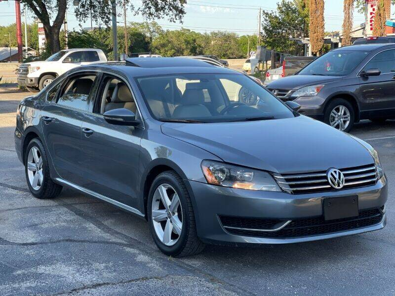 2012 Volkswagen Passat for sale at AWESOME CARS LLC in Austin TX