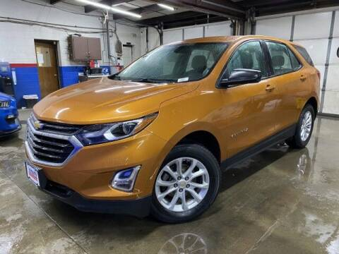 2018 Chevrolet Equinox for sale at Sonias Auto Sales in Worcester MA