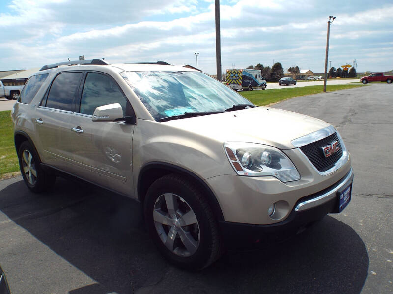 2011 GMC Acadia for sale at G & K Supreme in Canton SD