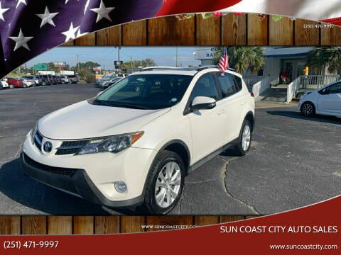 2014 Toyota RAV4 for sale at Sun Coast City Auto Sales in Mobile AL