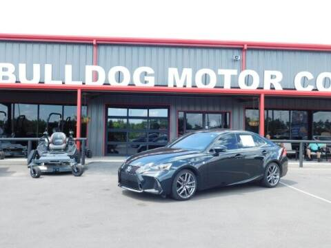 2019 Lexus IS 300 for sale at Bulldog Motor Company in Borger TX