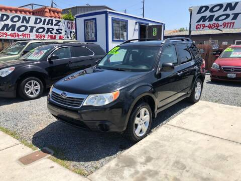 2009 Subaru Forester for sale at DON DIAZ MOTORS in San Diego CA