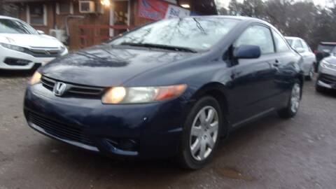 2006 Honda Civic for sale at Select Cars Of Thornburg in Fredericksburg VA
