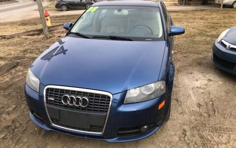 2008 Audi A3 for sale at Richard C Peck Auto Sales in Wellsville NY