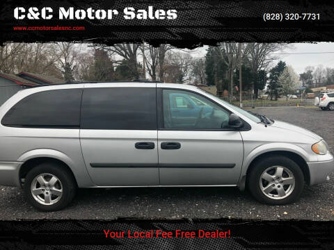 2005 Dodge Grand Caravan for sale at C&C Motor Sales LLC in Hudson NC