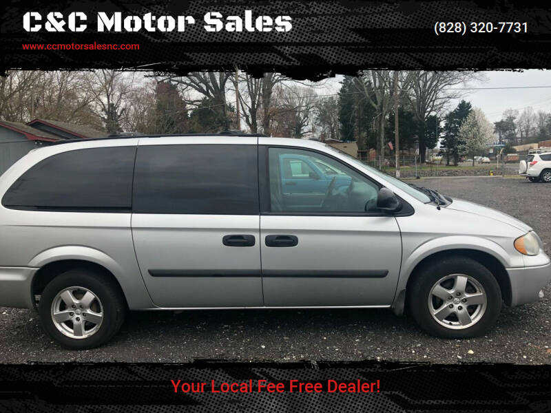 2005 Dodge Grand Caravan for sale at C&C Motor Sales LLC in Hudson NC