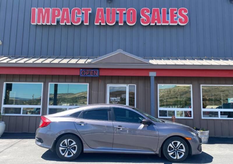 2016 Honda Civic for sale at Impact Auto Sales in Wenatchee WA