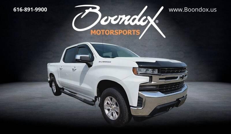 2019 Chevrolet Silverado 1500 for sale at Boondox Motorsports in Caledonia MI