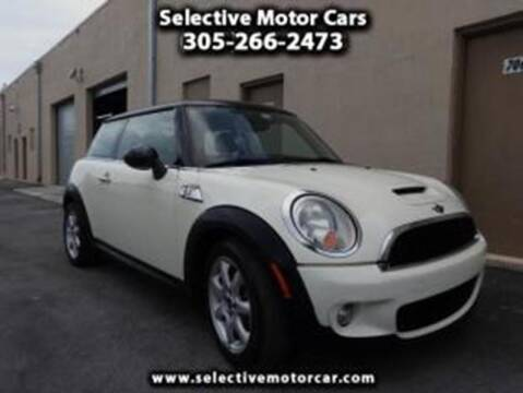 2007 MINI Cooper for sale at Selective Motor Cars in Miami FL