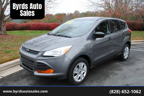2013 Ford Escape for sale at Byrds Auto Sales in Marion NC