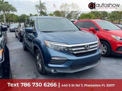 2016 Honda Pilot for sale at AUTOSHOW SALES & SERVICE in Plantation FL