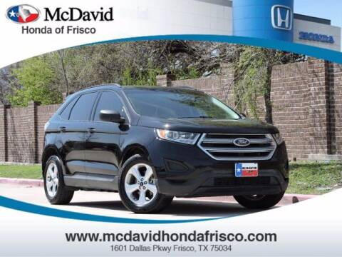 2016 Ford Edge for sale at DAVID McDAVID HONDA OF IRVING in Irving TX