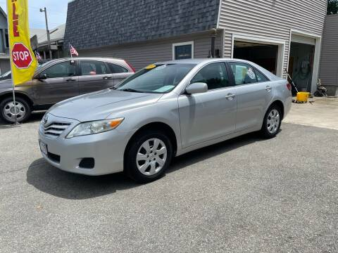 2010 Toyota Camry for sale at JK & Sons Auto Sales in Westport MA